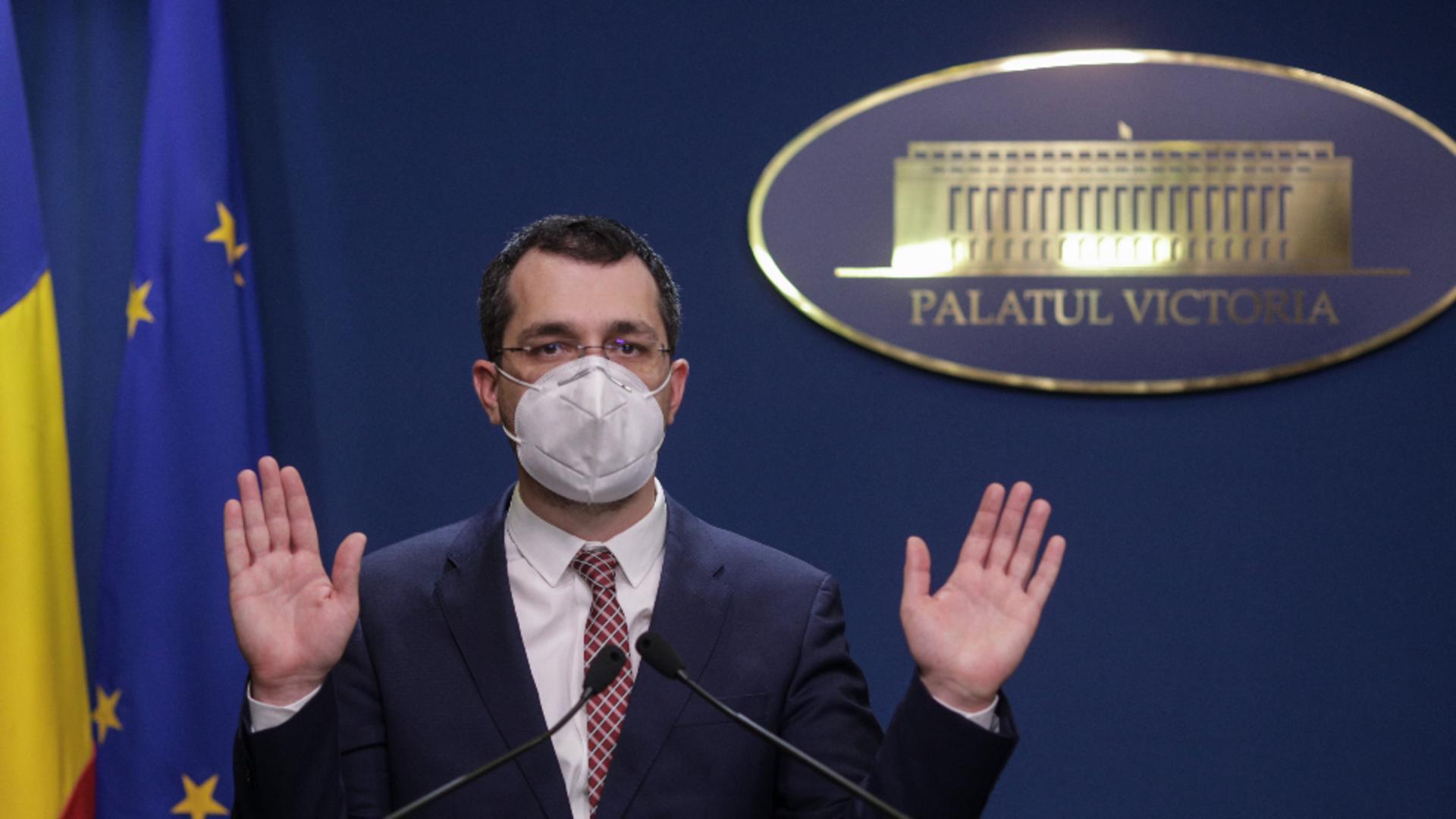 Vlad Voiculescu, fost ministru al Sănătății