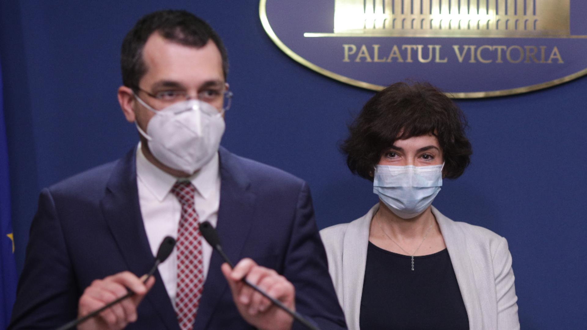 Vlad Voiculescu și Andreea Moldovan / Foto: Inquam Photos