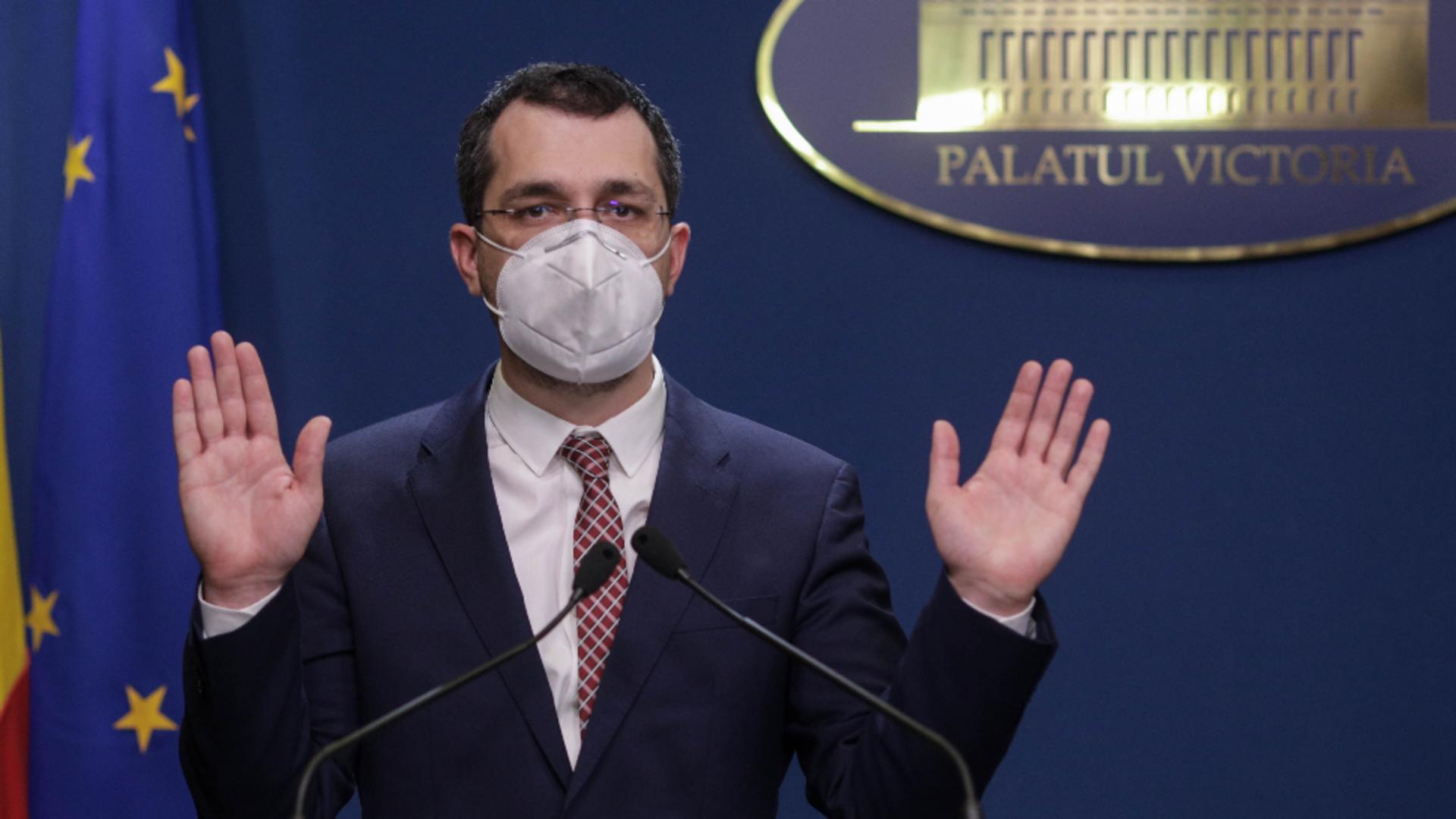 Vlad Voiculescu. Foto: Inquam