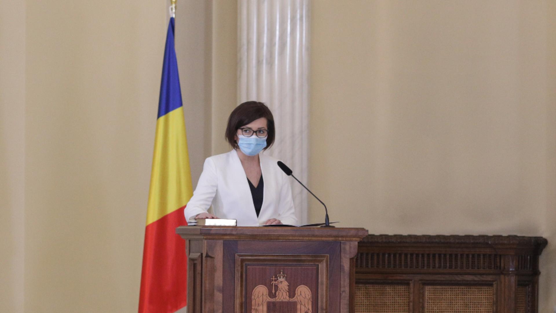 Ioana Mihăila/sursa foto: Octav Ganea, INQUAM