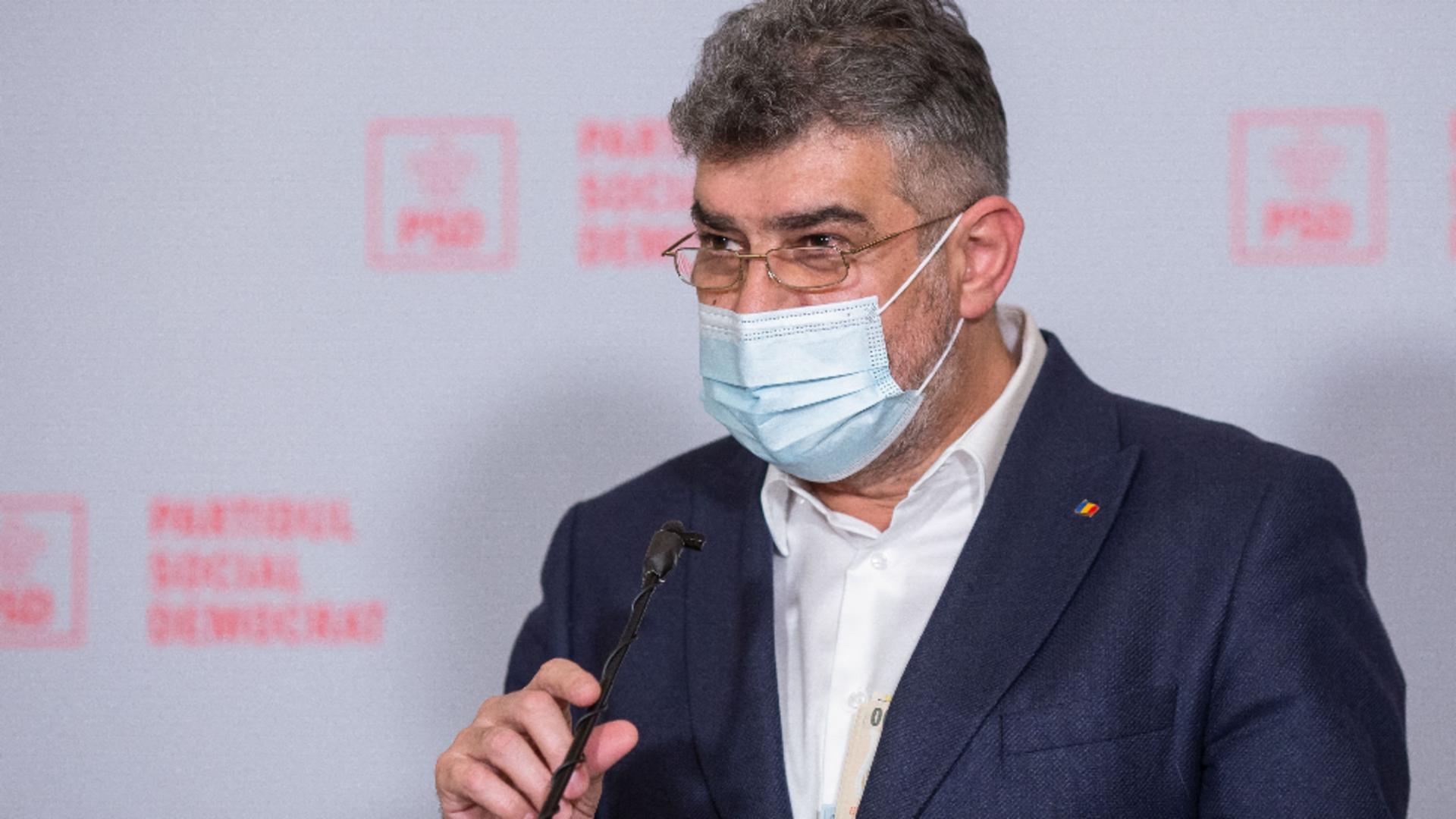 Marcel Ciolacu, atac la Guvern pe tema testării COVID-19 a elevilor Foto: INQUAM