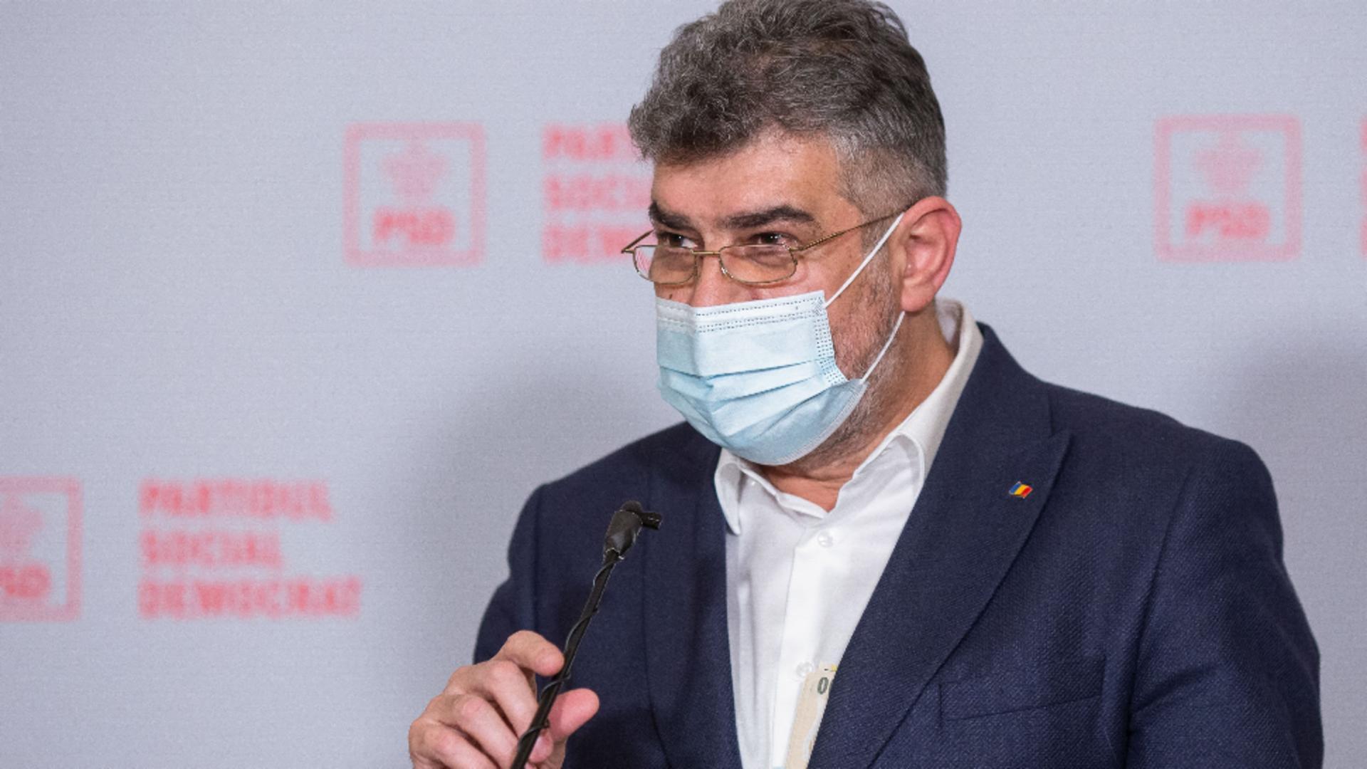 Marcel Ciolacu, președintele PSD Foto: InquamPhotos/Ilona Andrei