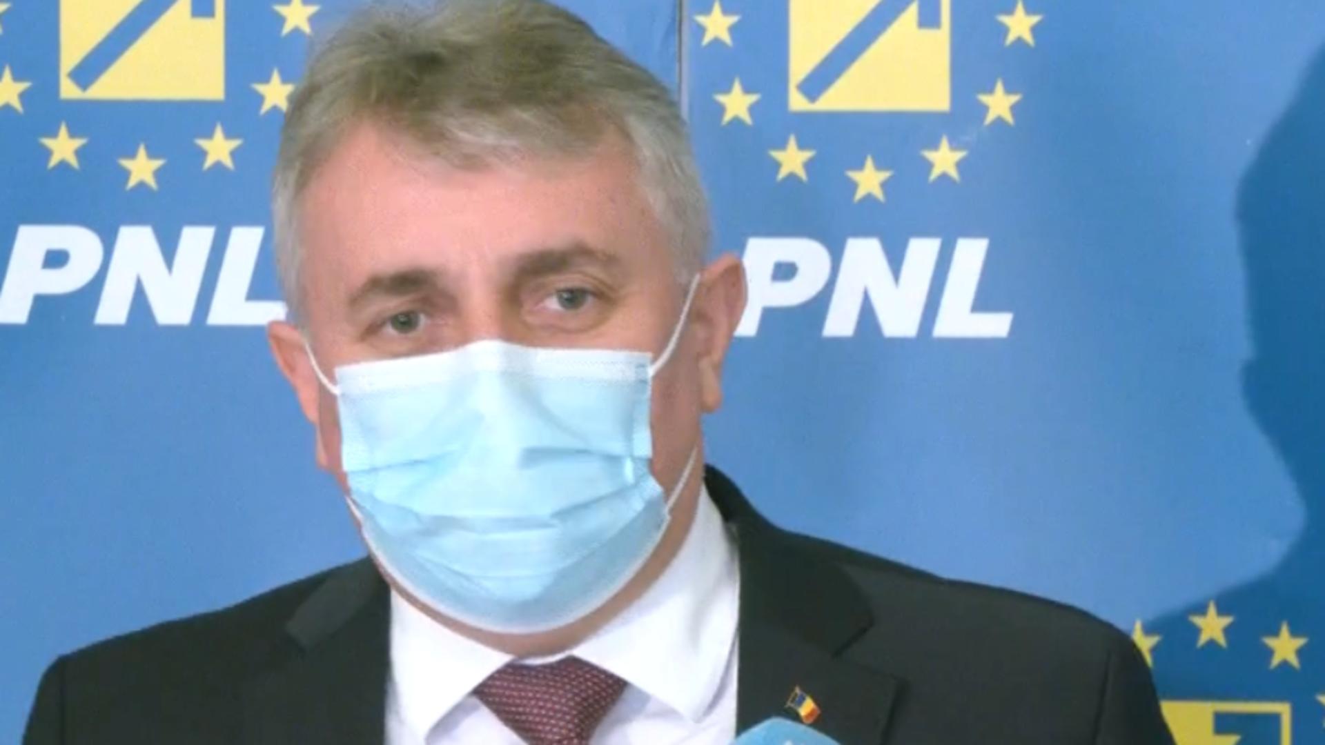 Lucian Bode, ministrul Afacerilor Interne / Foto: Captură conferință de presă