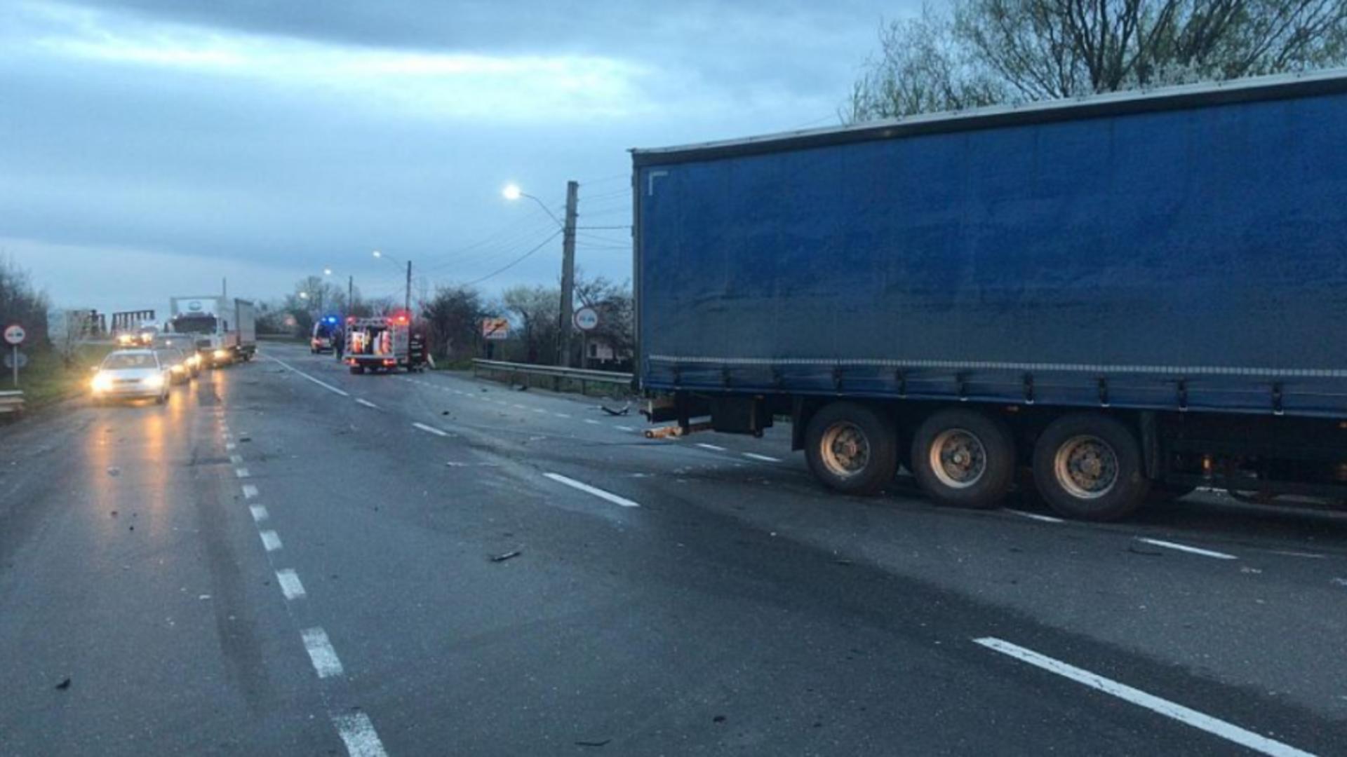 Accident DN2 E85 / Foto: Captură Ziarul de Vrancea