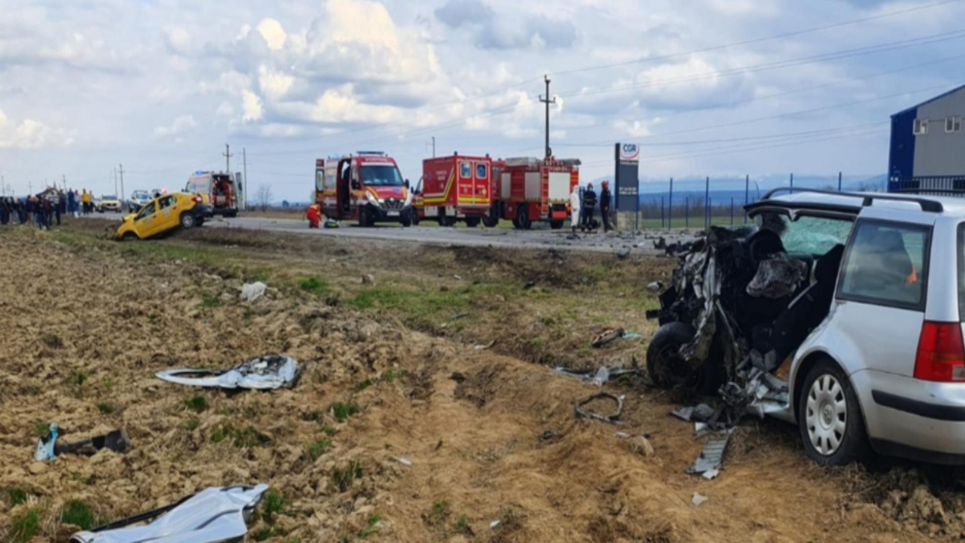 Accident DN1, județul Sibiu