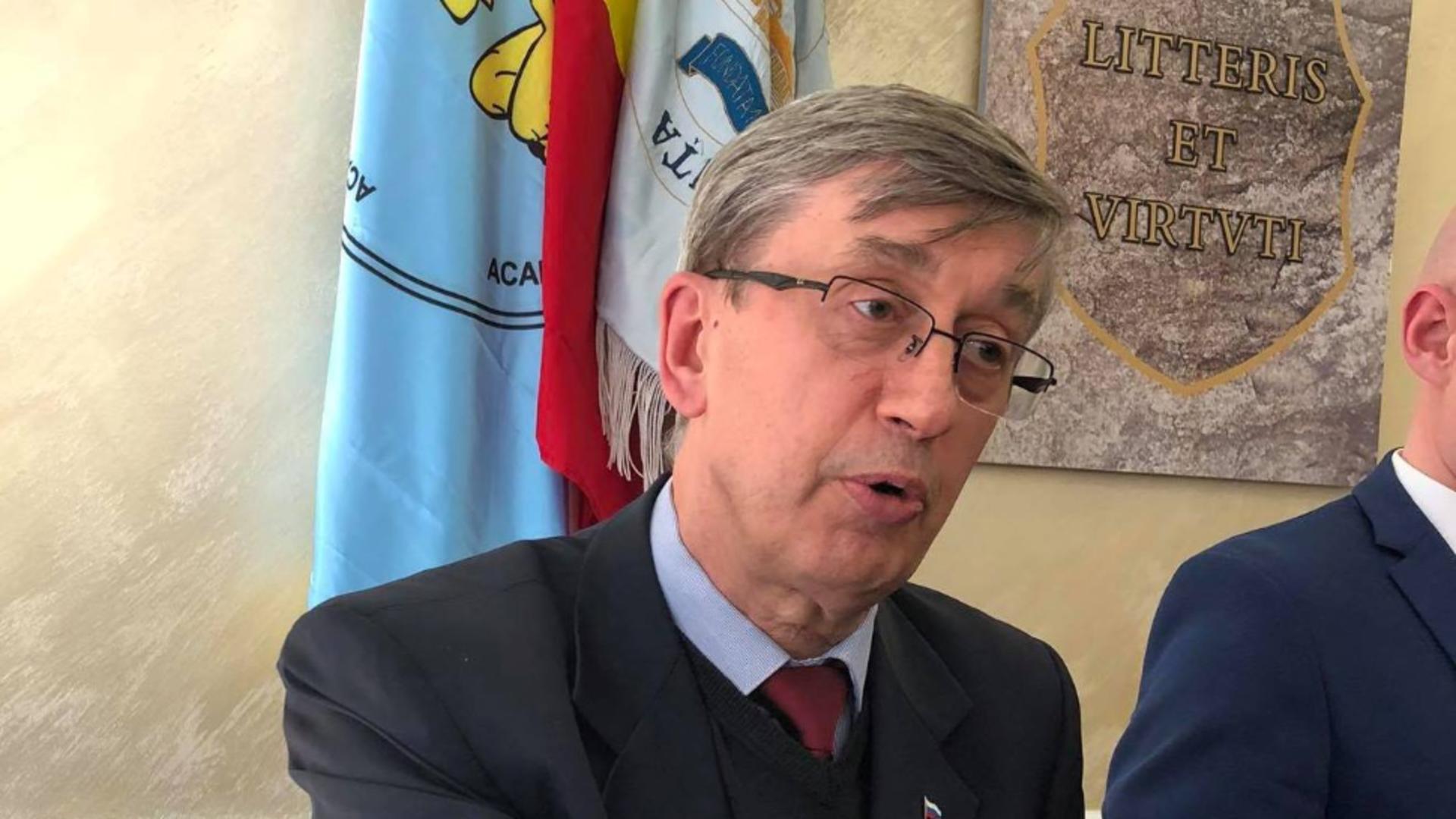 Valeri Kuzmin, ambasadorul Rusiei în România