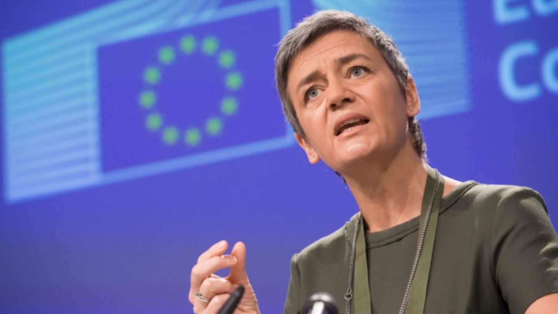 Margrethe Vestager. Foto: euractiv.com
