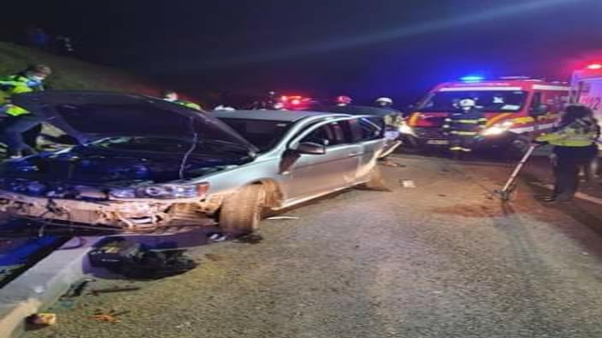 Accident teribil în județul Constanța. Un mort și patru răniți