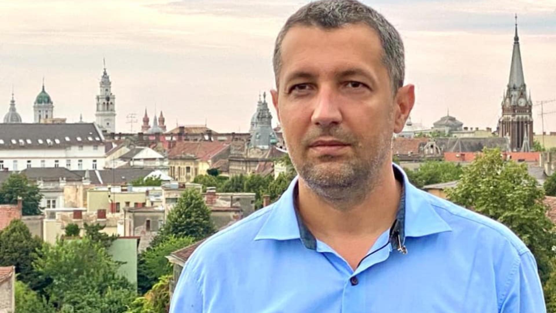 Adrian Wiener, posibilul viitor ministru al sănătății este medic și deputat de Arad din partea USR. Foto/Facebook