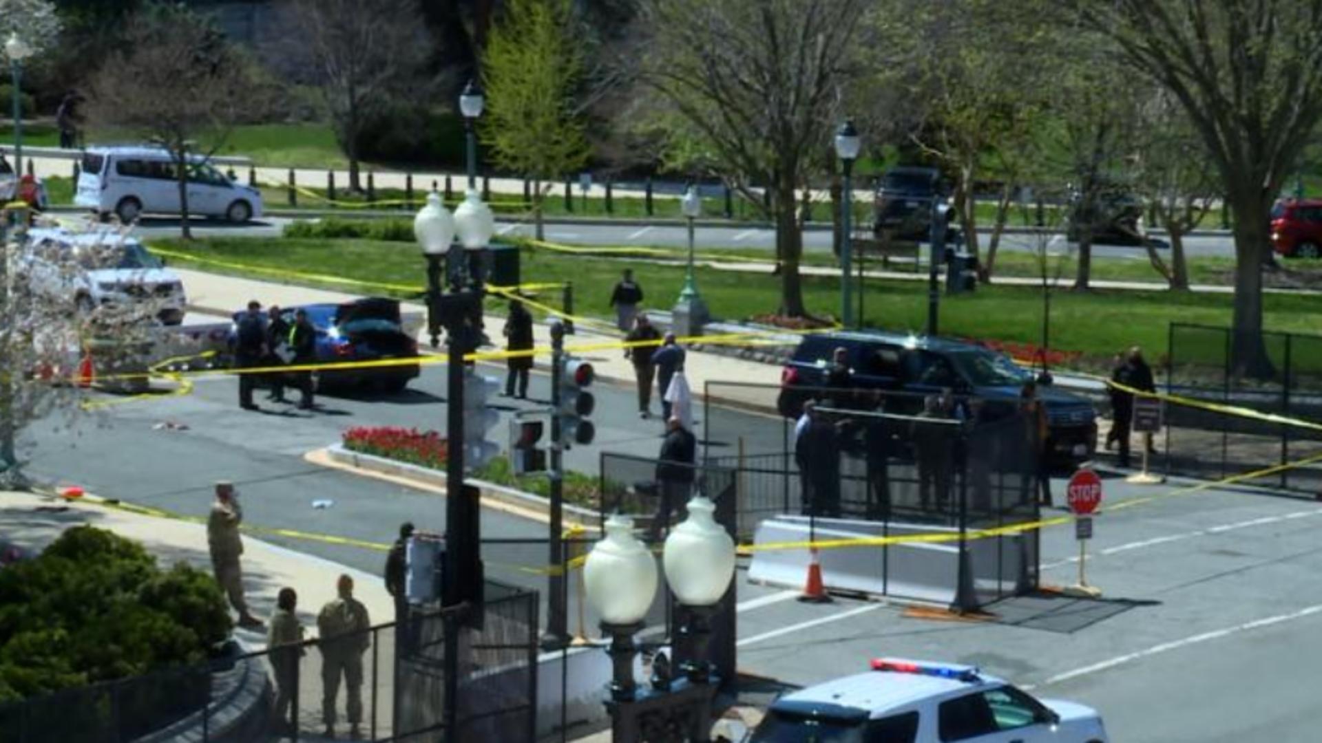 Alertă la Capitoliu după focuri de armă Foto: CNN.com