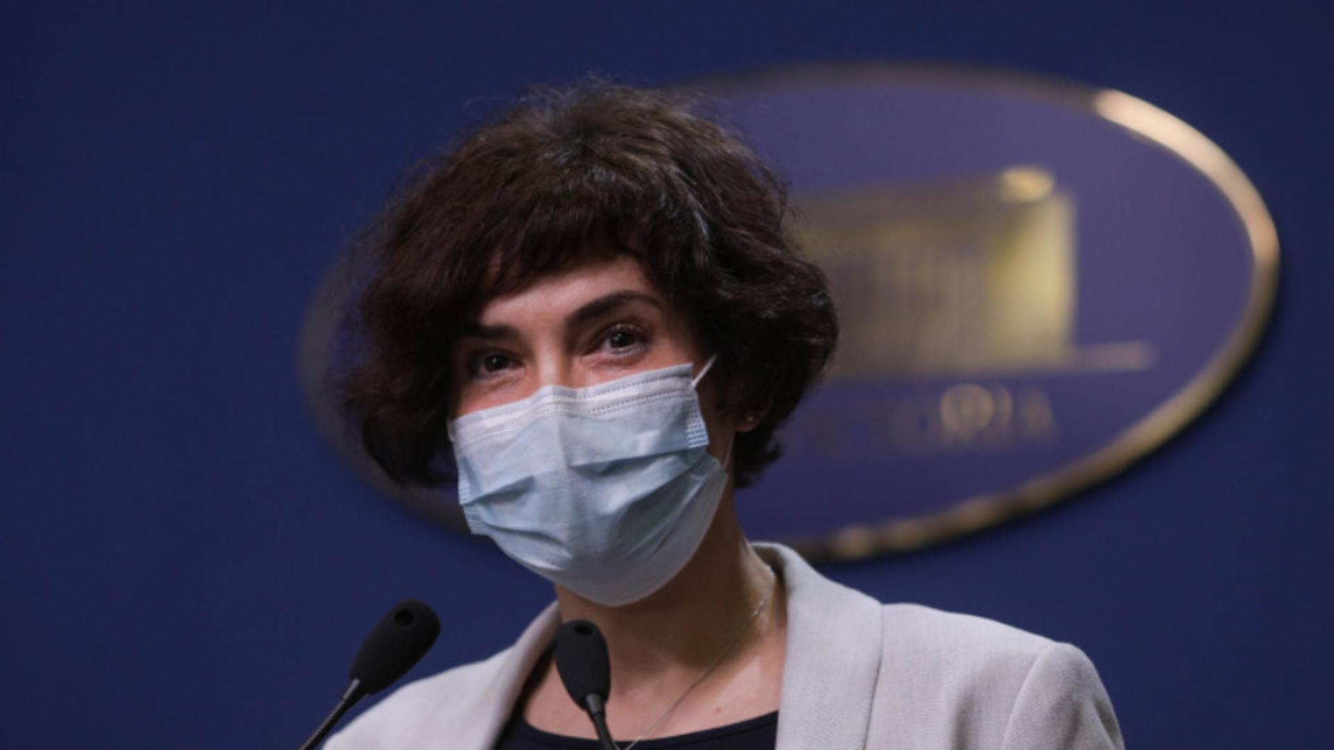 Andreea Moldovan - secretar de stat în Ministerul Sănătății