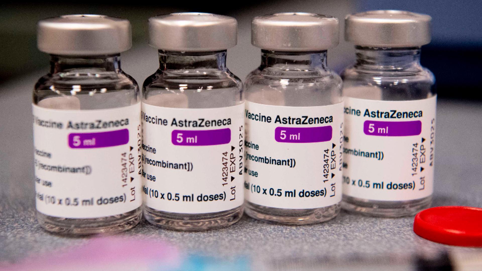Vaccin AstraZeneca. Foto: Profi Media
