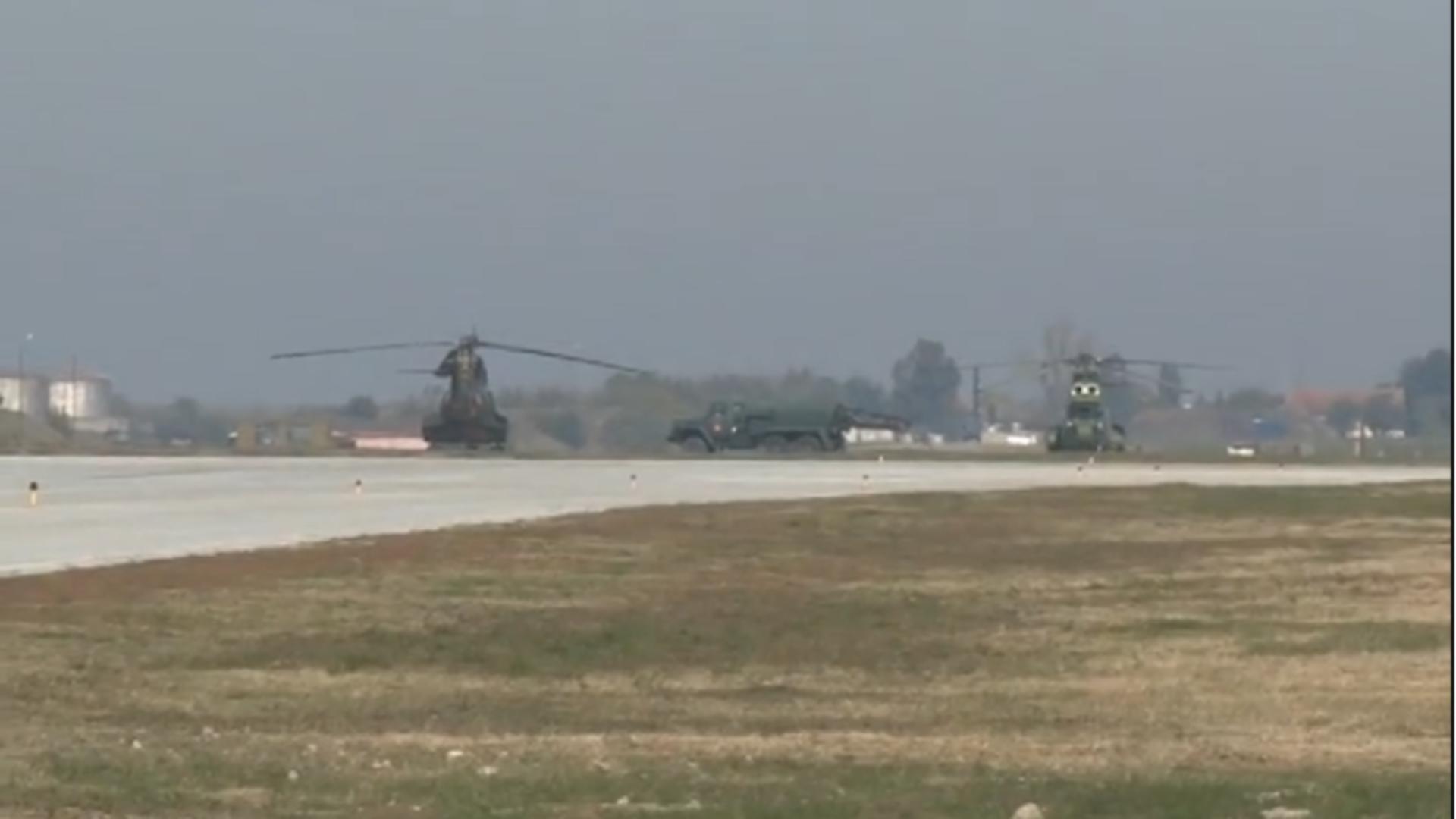 Baza militară NATO din Constanța. Foto: captură Realitatea Plus