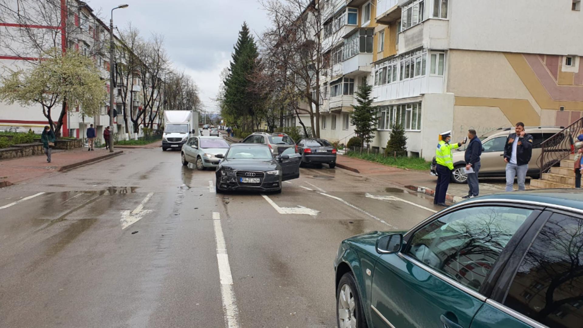 Accident auto în Botoșani