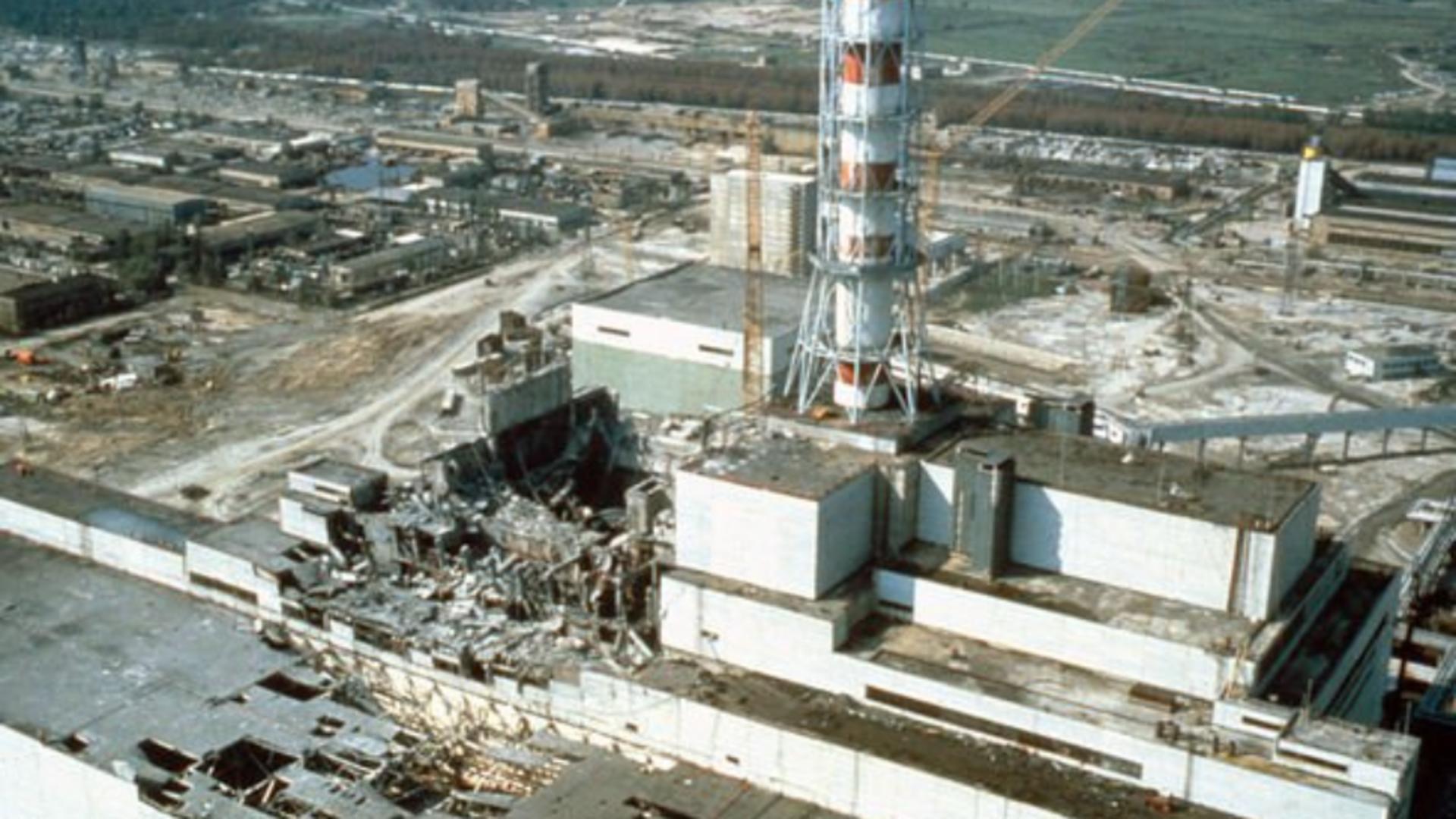 Imagini de la Cernobîl