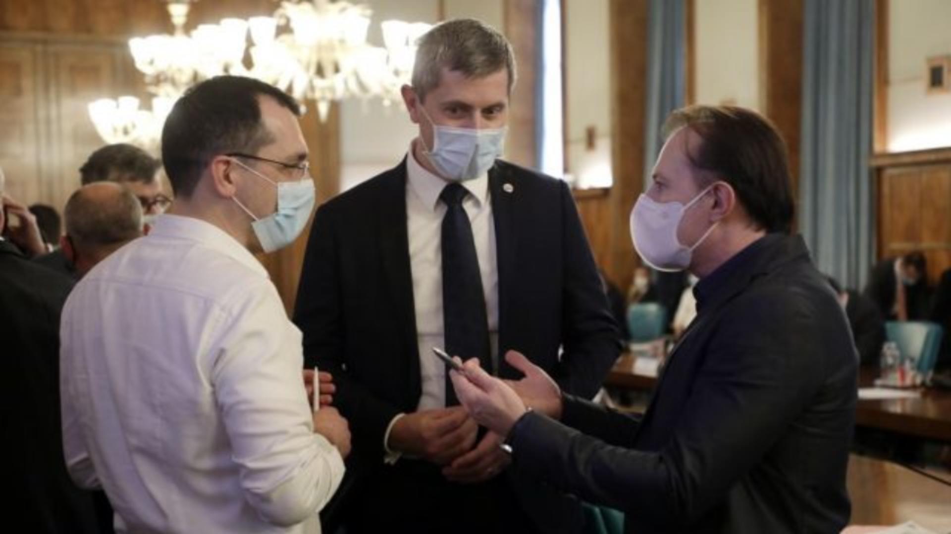 Dan Barna, Florin Cîțu, Ludovic Orban