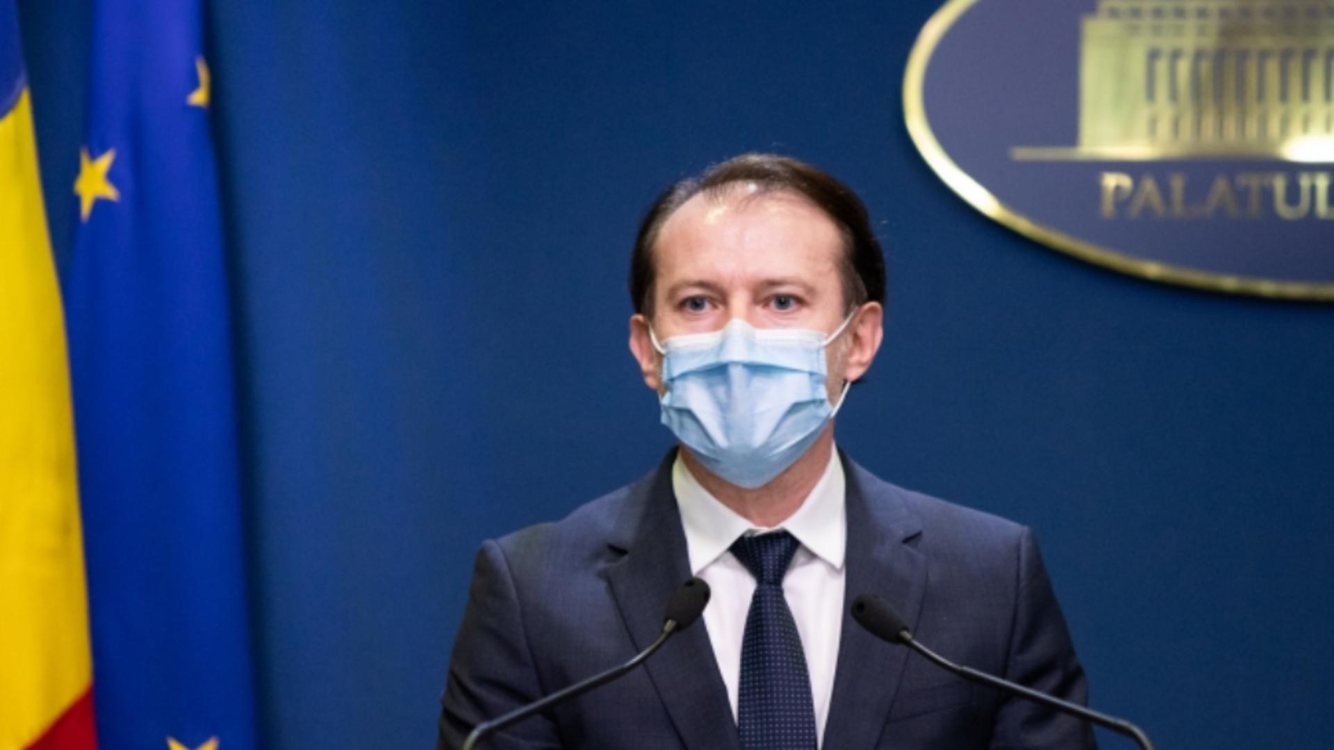 Premierul României - Florin Cîțu /  Foto Facebook
