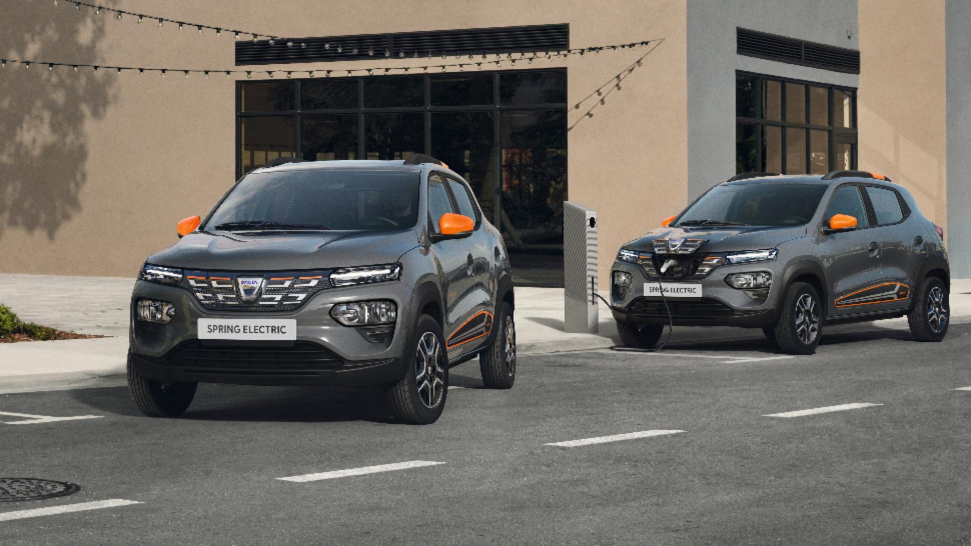 Dacia Spring, cel mai ieftin automobil electric din Europa. Foto/ Renault