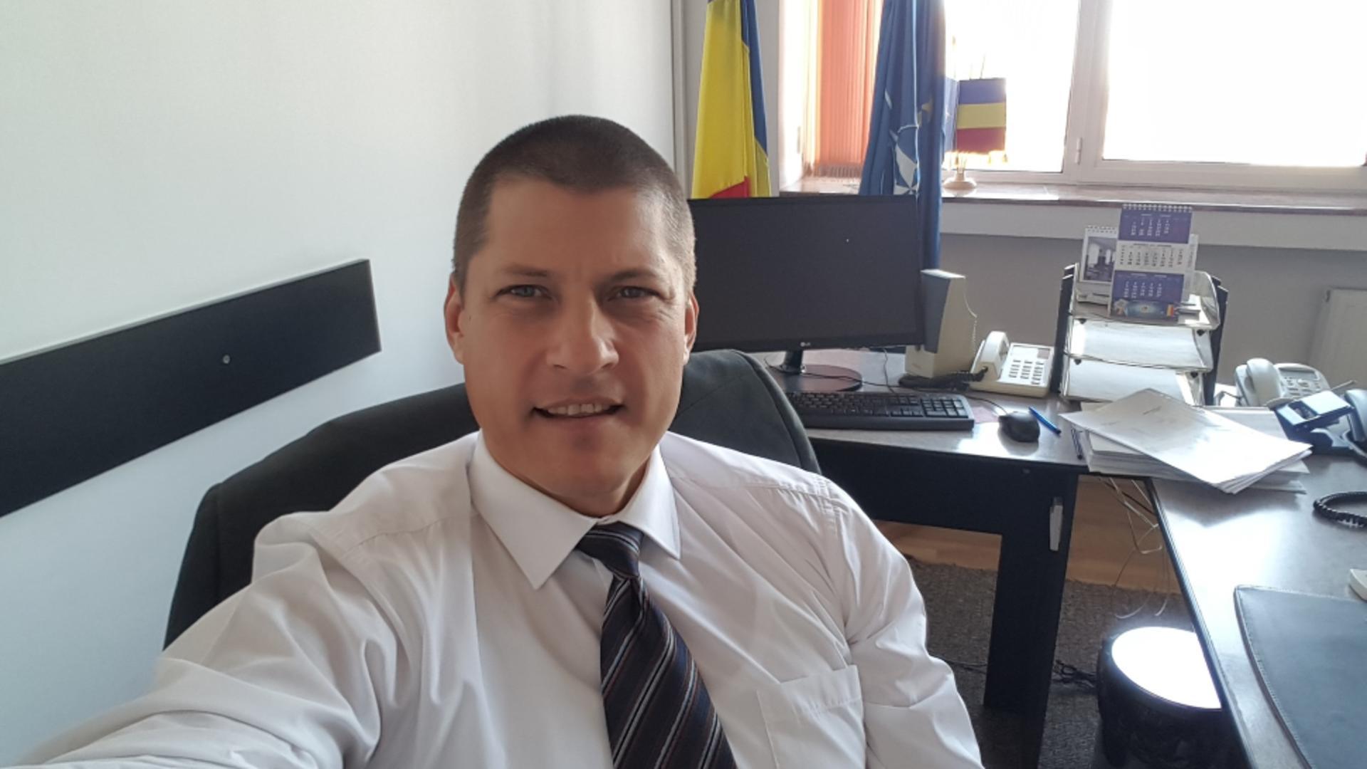 Șeful Penitenciarului Arad a devenid directorul ANP. Foto Facebook