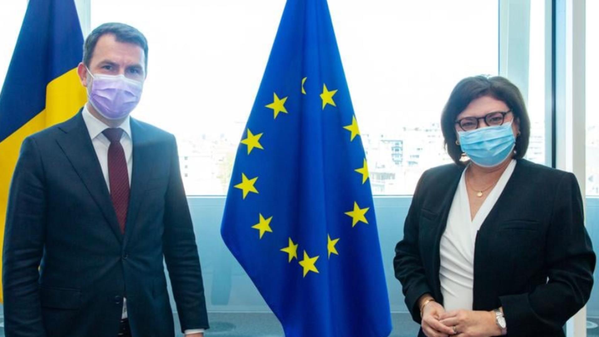 Cătălin Drulă a vorbit cu Bruxelles despre proiectele de infrastructură ale României Foto: Facebook.com