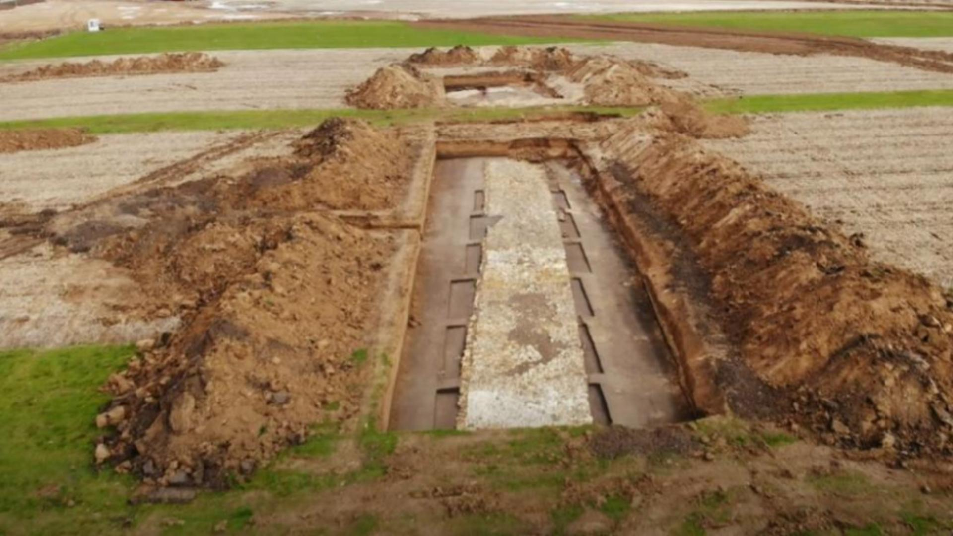 Un drum construit de romani cu peste 2..000 de ani în urmă