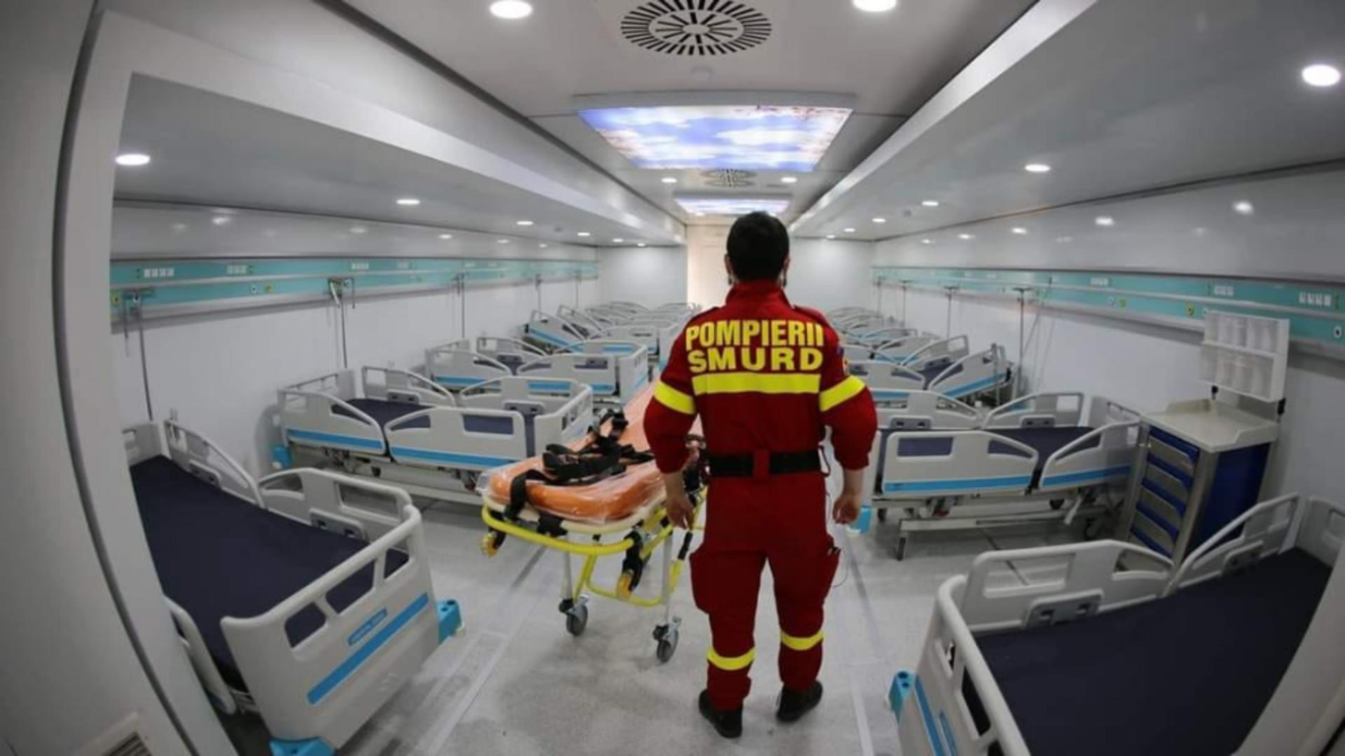 Pacienții Covid ajung la spital în stare tot mai gravă