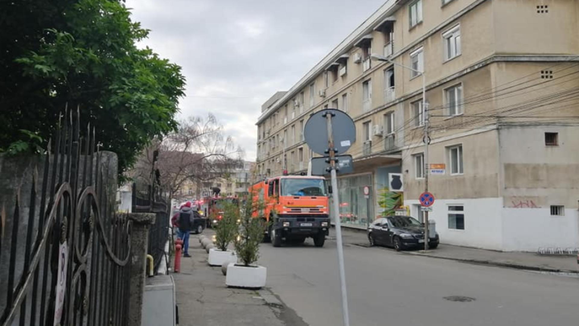 EXPLOZIE puternică în Ploiești - Intervenție urgentă a pompierilor Foto: Facebook.com