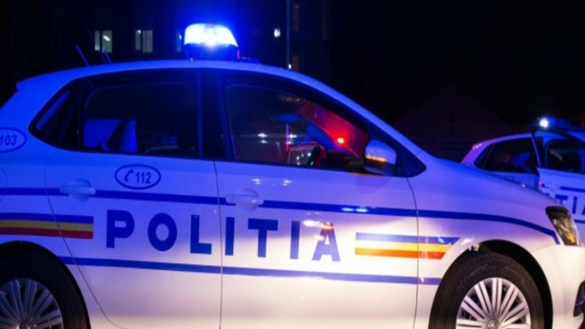 Intervenție poliție Vaslui