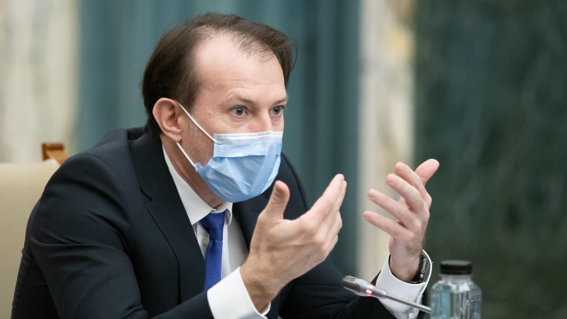 Florin Cîțu, prim-ministru