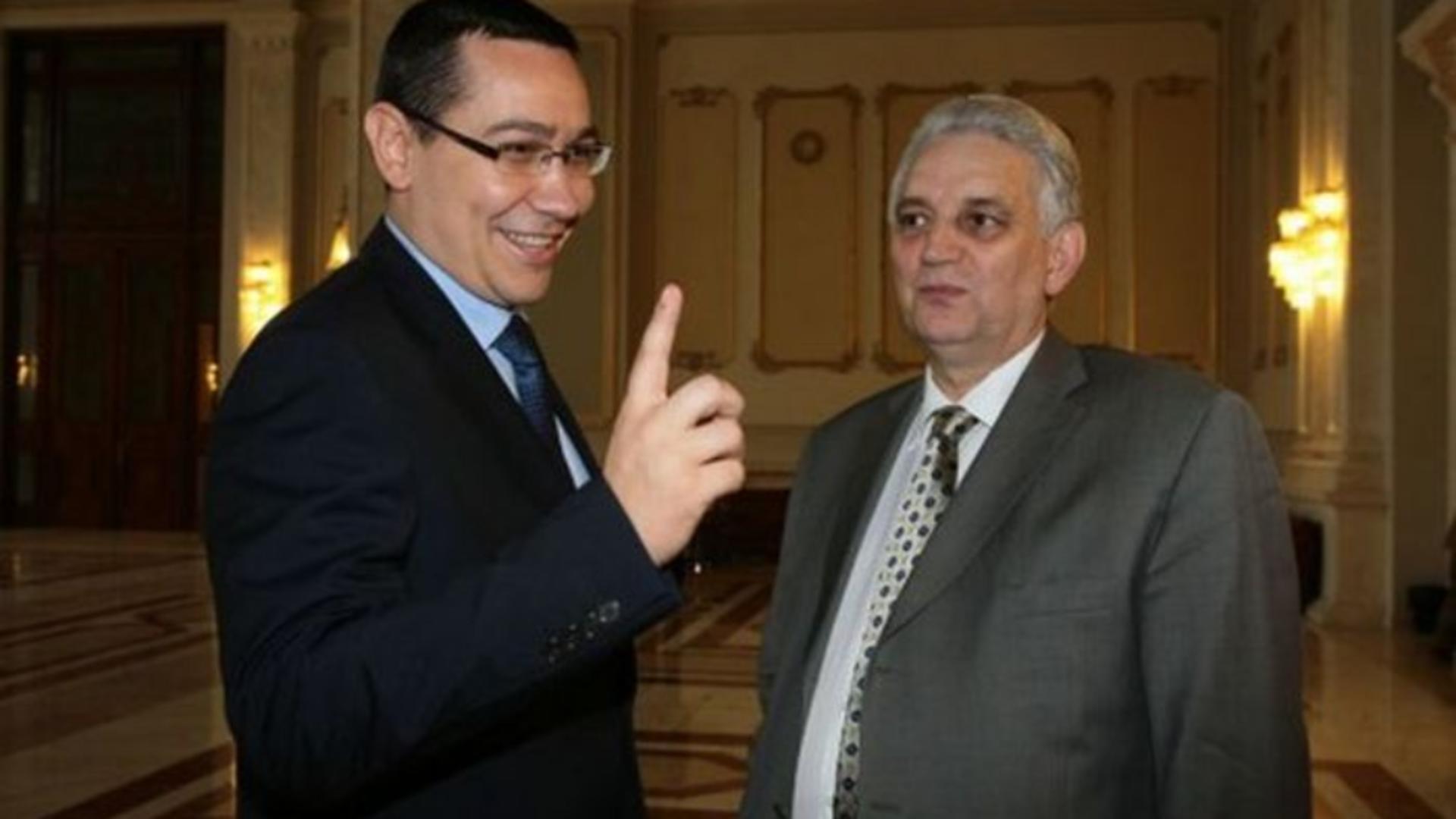 Ilie Sarbu si Victor Ponta