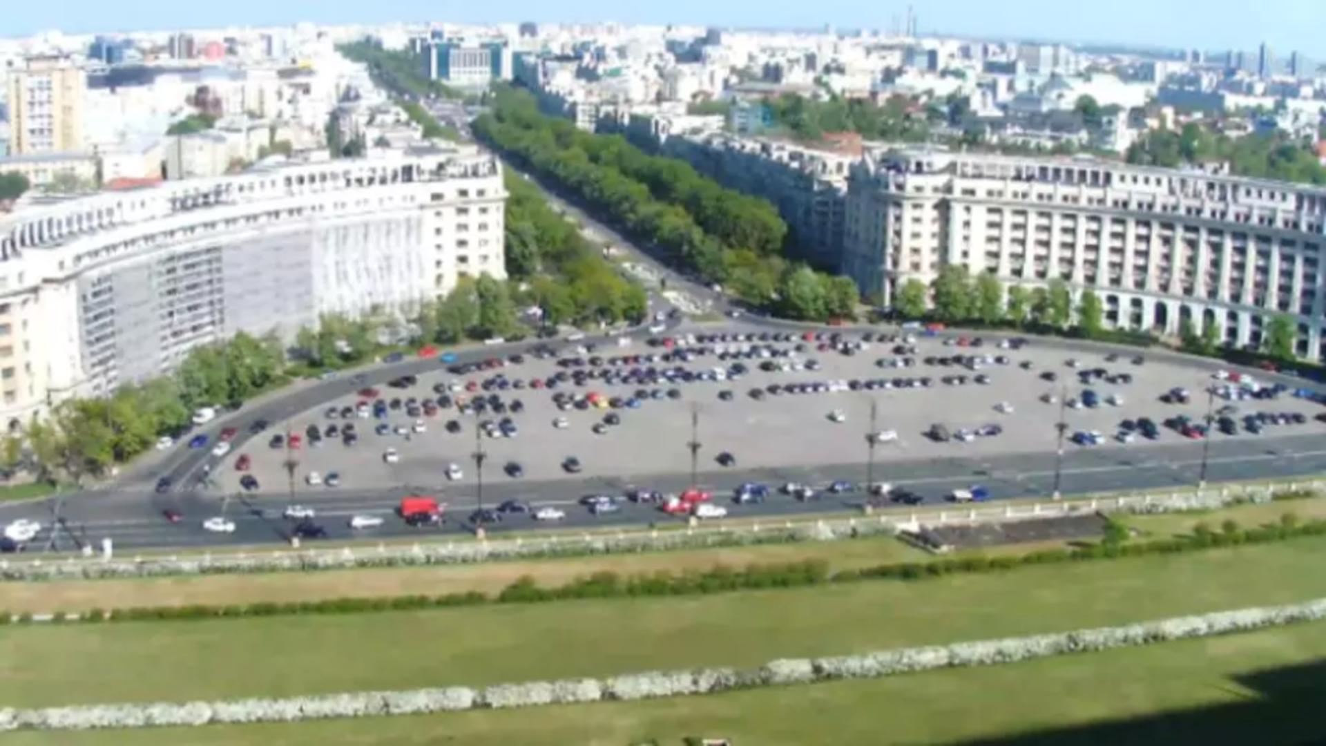 Parcare Piața Constituției din Capitală