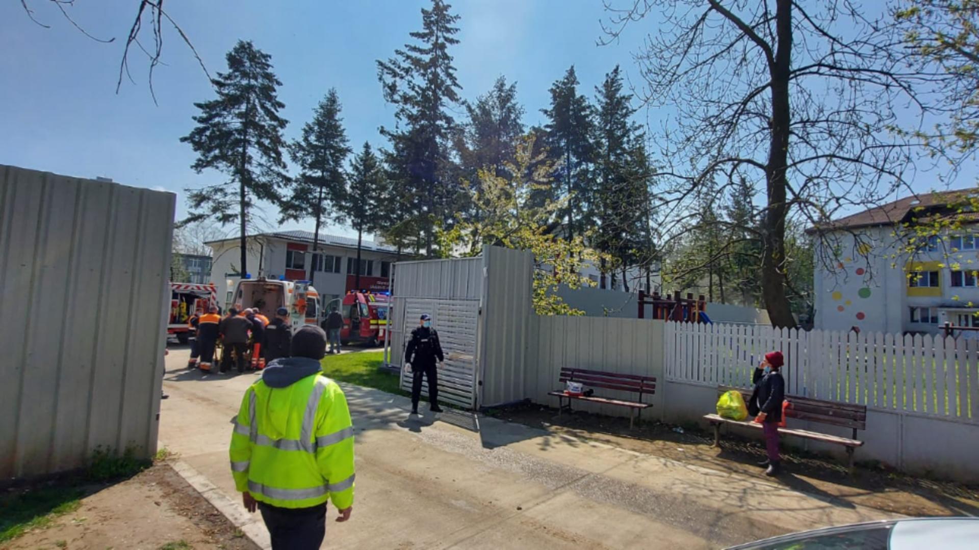 Incendiu la Spitalul Județean Slatina