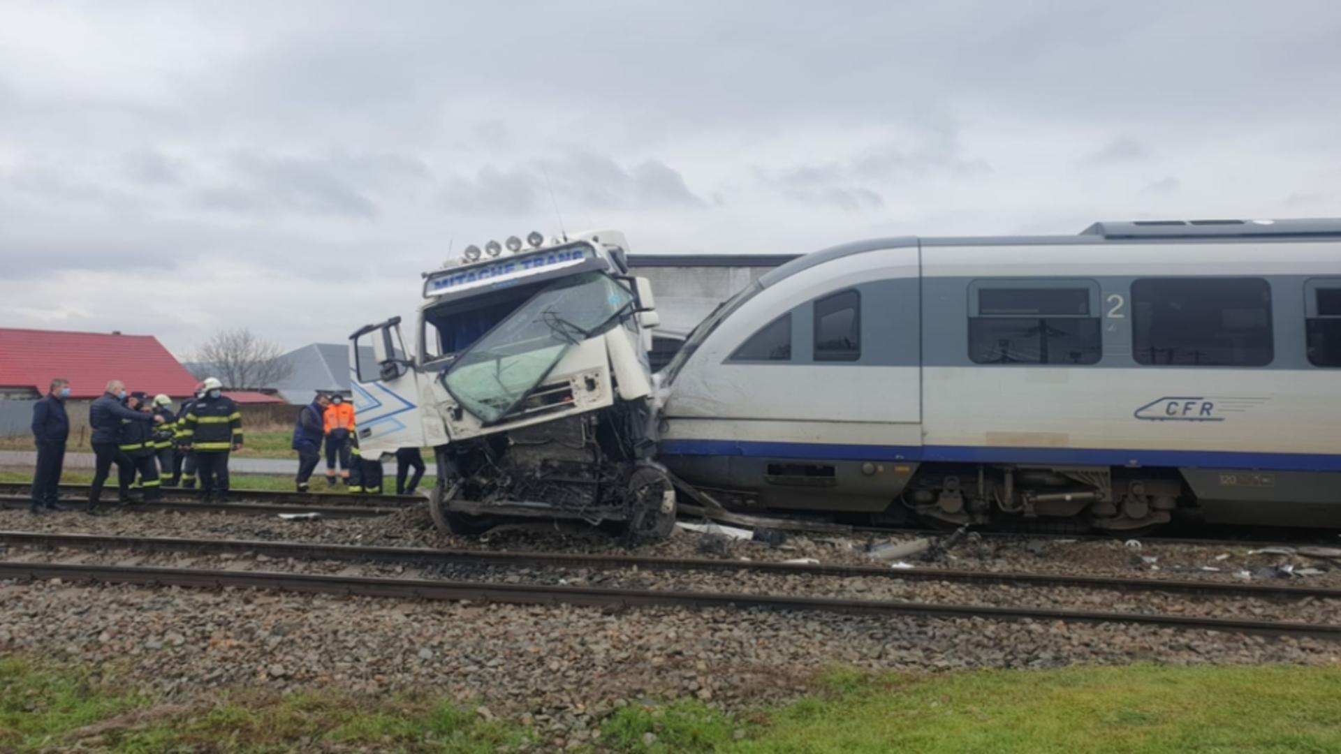 Accident feroviar Roșiești, jud. Vaslui