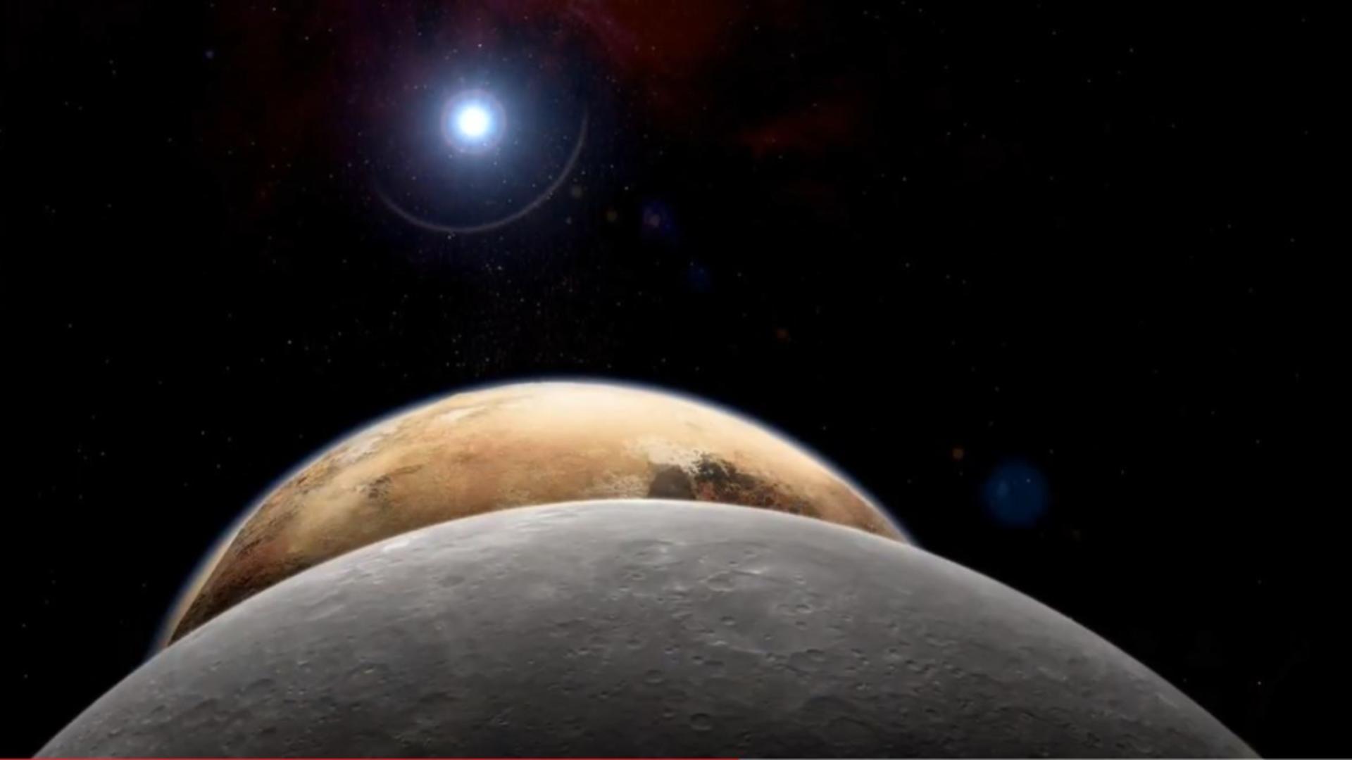 Interstellar Probe - sonda proiectată să cerceteze spațiul interstelar. Foto/captură video