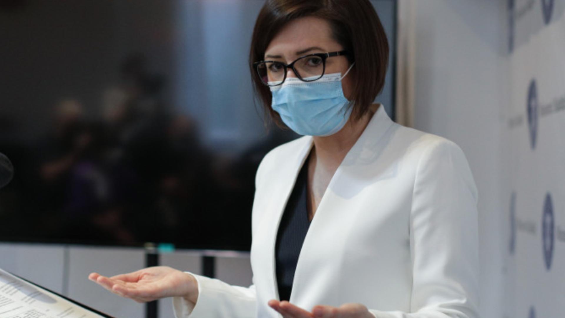 Ministrul Sănătății, Ioana Mihăilă, a anunțat CUM vor afla rudele pacienților bolnavi de COVID-10 care este starea lor de sănătate