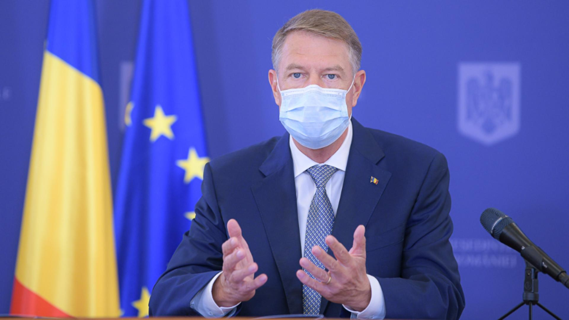 Klaus Iohannis / Foto: Administrația Prezidențială
