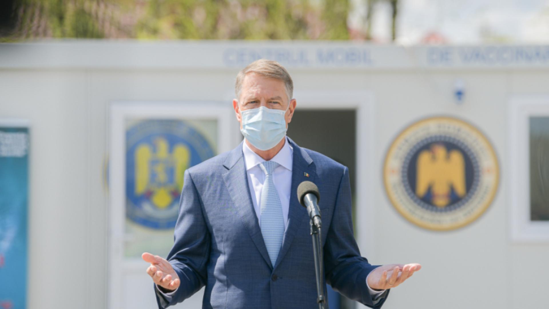 Președintele României - Klaus Iohannis / Foto: Administrația Prezidențială