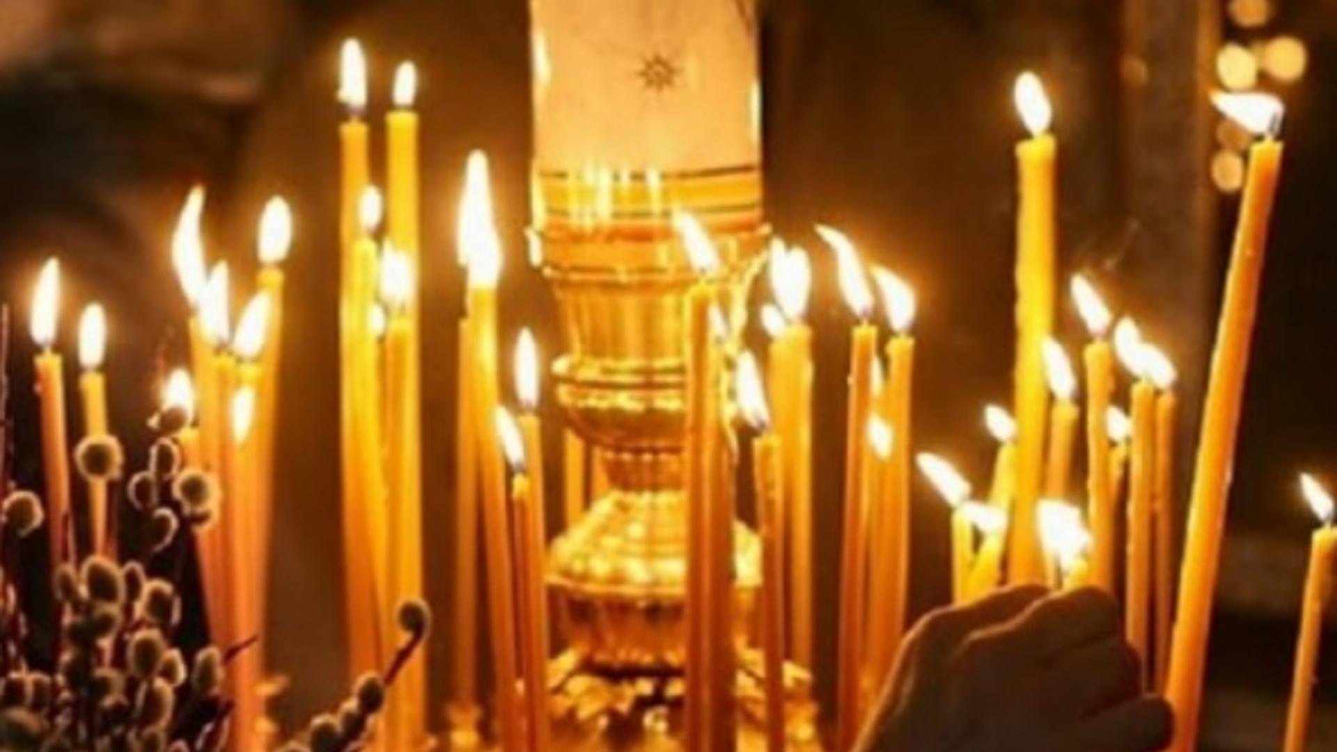 Există mai multe mituri legate de lumânările din biserică