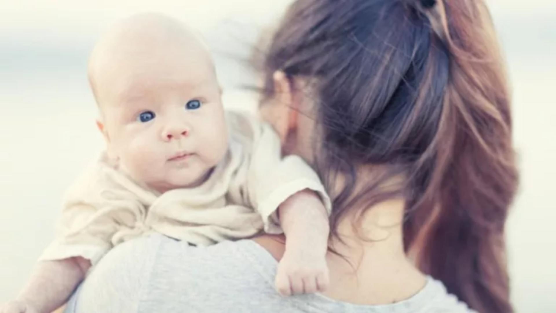 Mamă minora (foto arhiva)