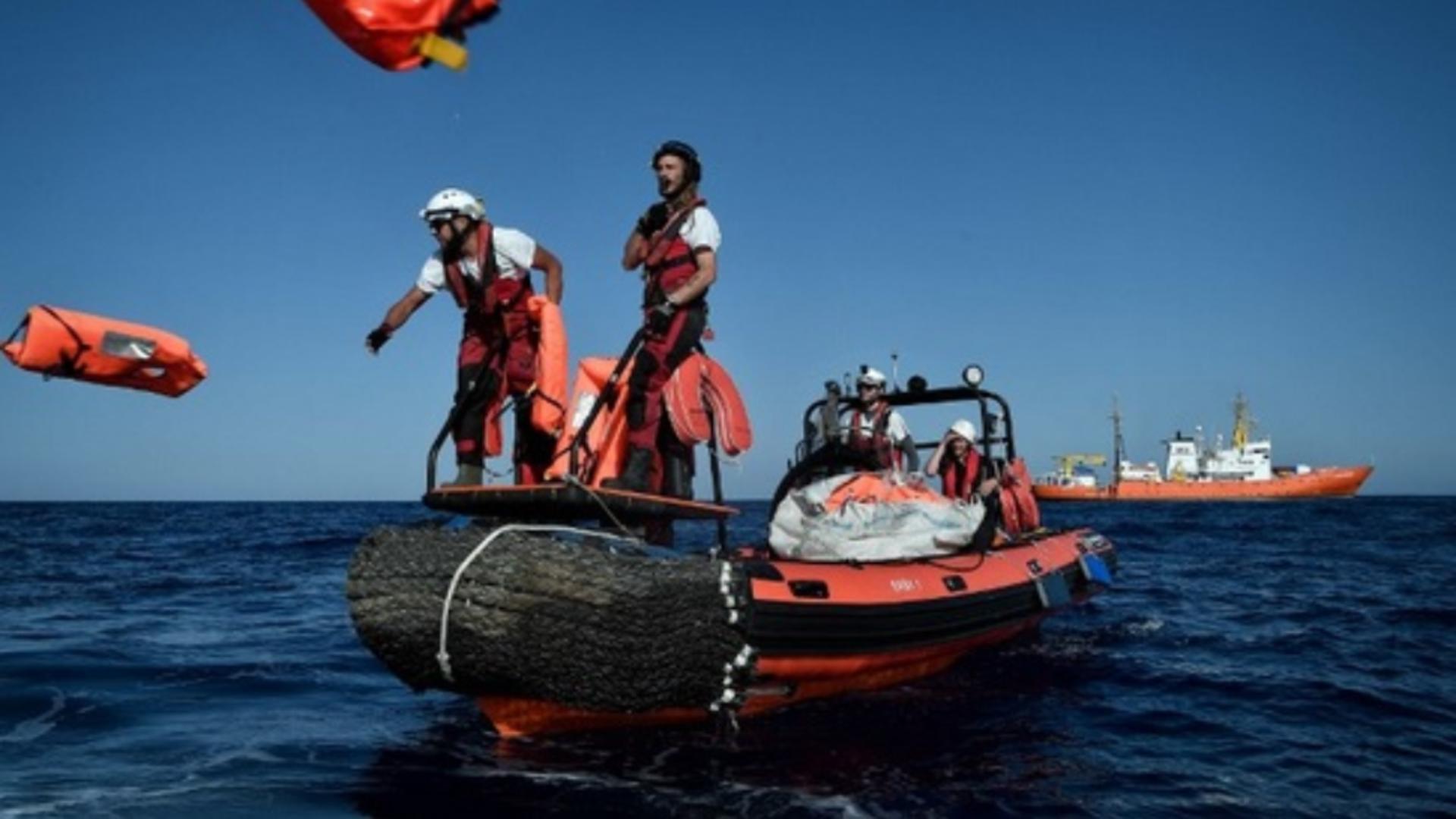 Barca migranți / Foto: Arhivă