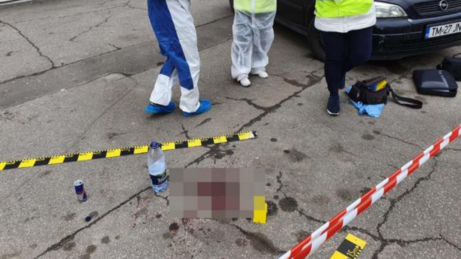 Un bărbat a fost ucis, iar altul este în stare gravă, după o răfuială între migranți, pe străzile Timișoarei. Foto/tion.ro
