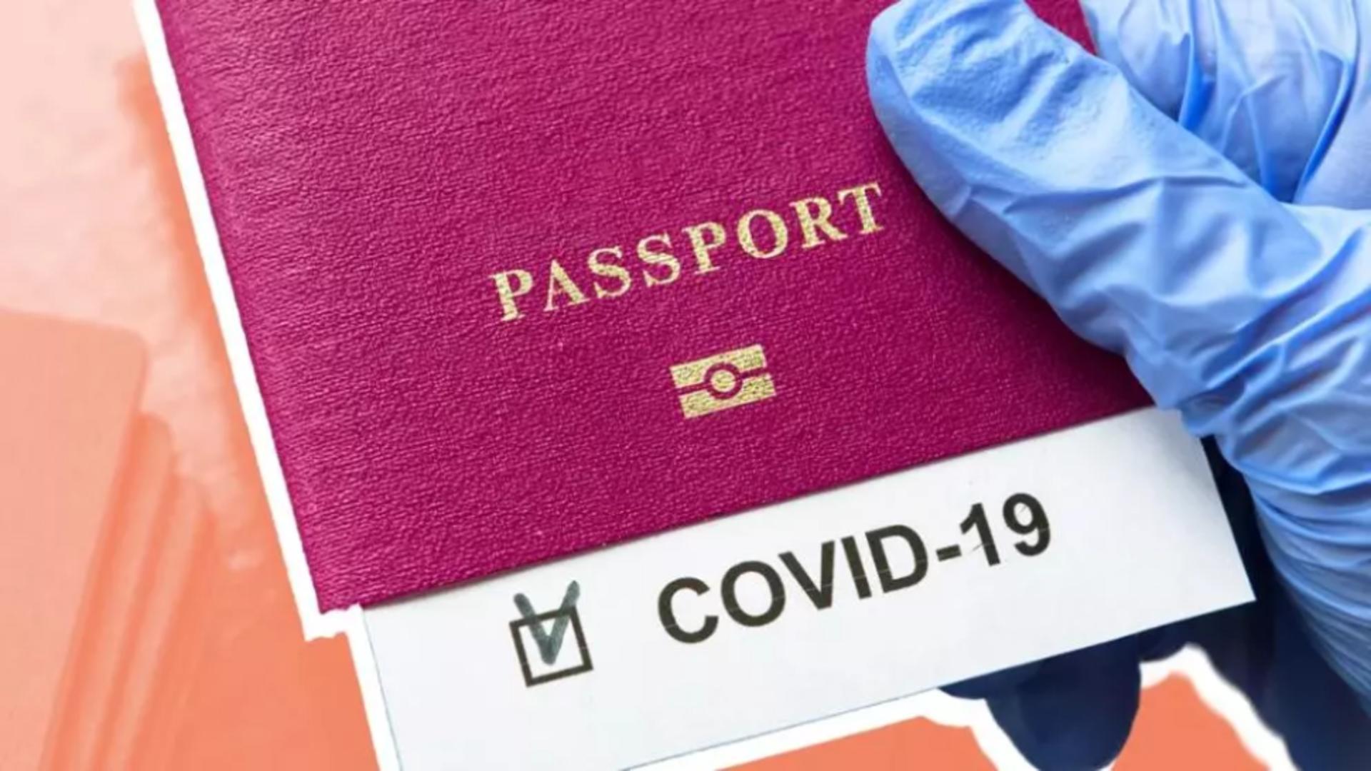 Pașaport vaccinare anti-Covid