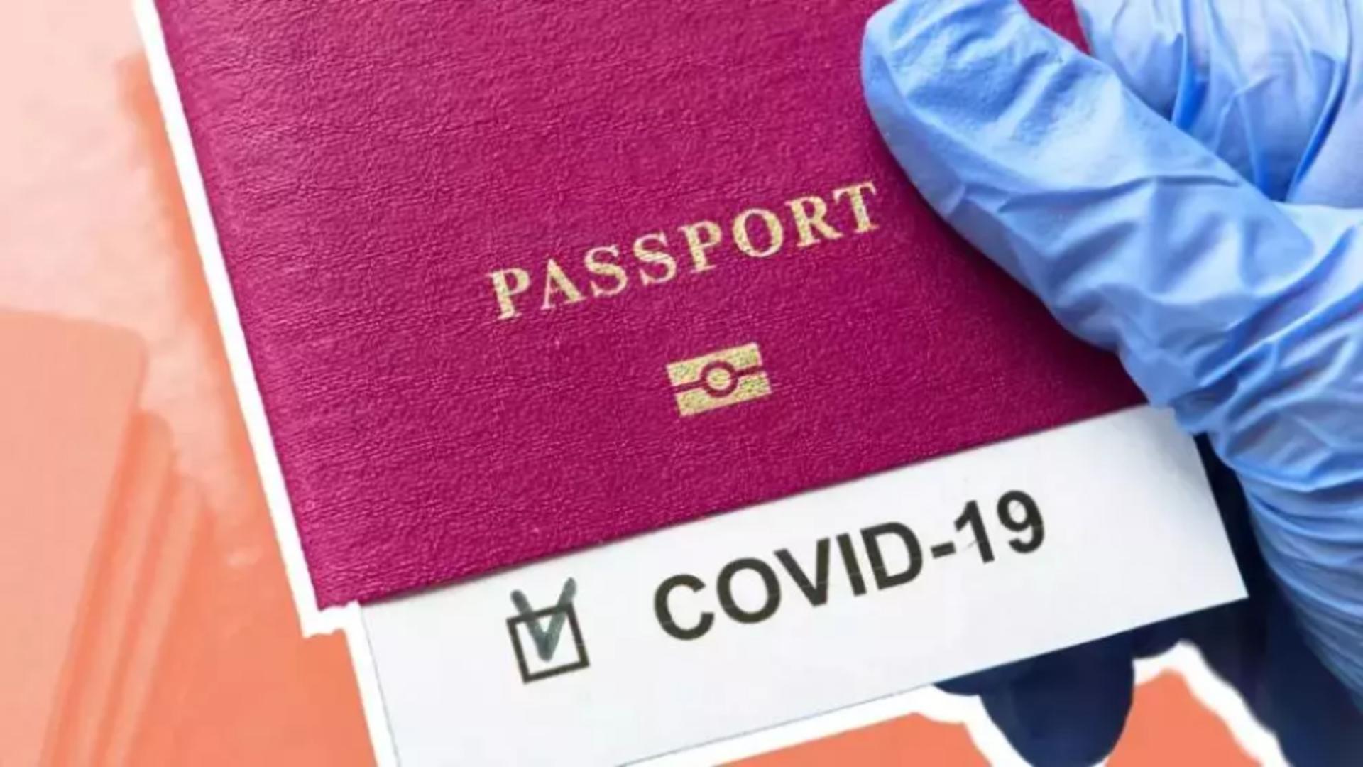 Pașaportul de vaccinare, valabil din vară