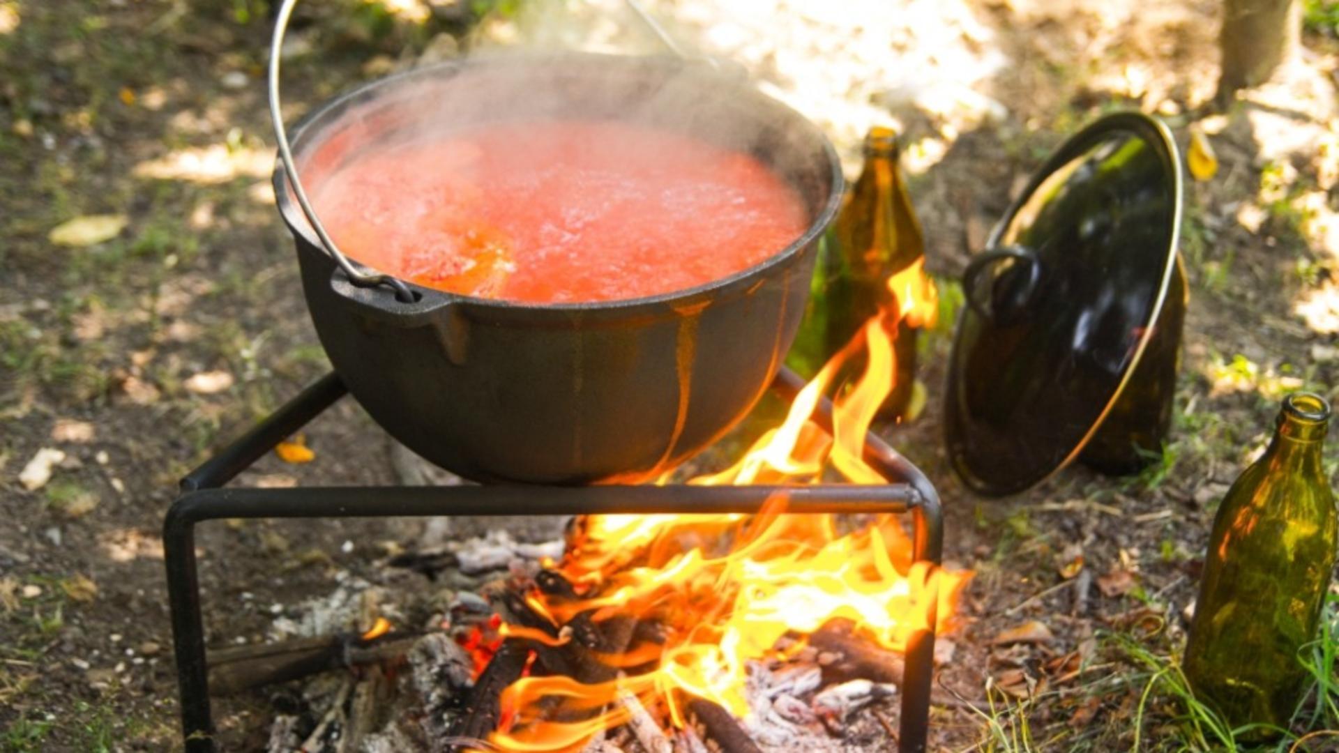 Ciorba pe pirostrii, gustul de altădată. Foto/oti.ro