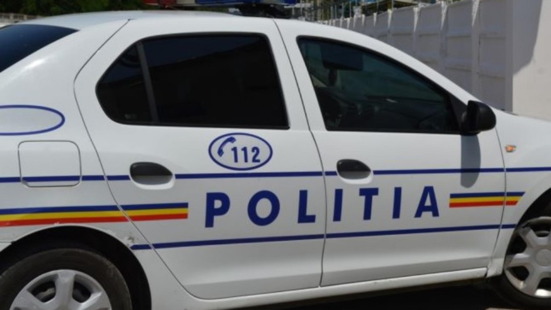 Masina a politiei (foto generic)
