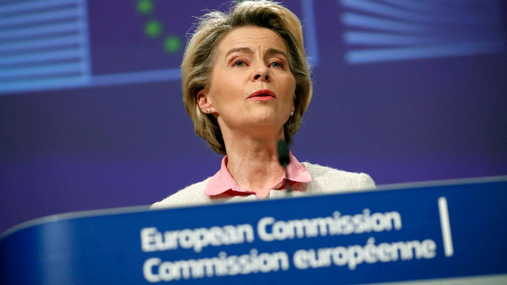 Ursula von der Leye, președintele Comisiei Europene / Foto: Profimedia