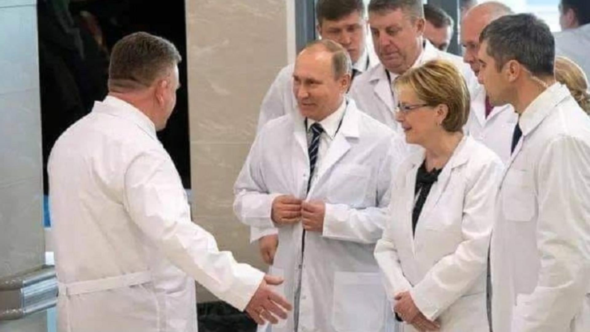 Președintele Rusiei, Vladimir Putin
