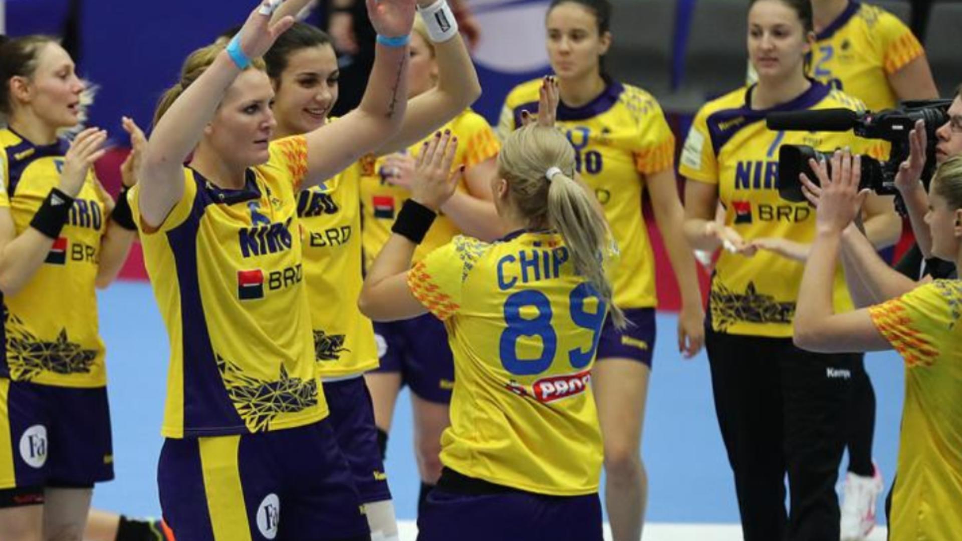 Romania a invins-o categoric pe Macedonia de Nord, in campania de calificare pentru Campionatul Mondial de handbal feminin