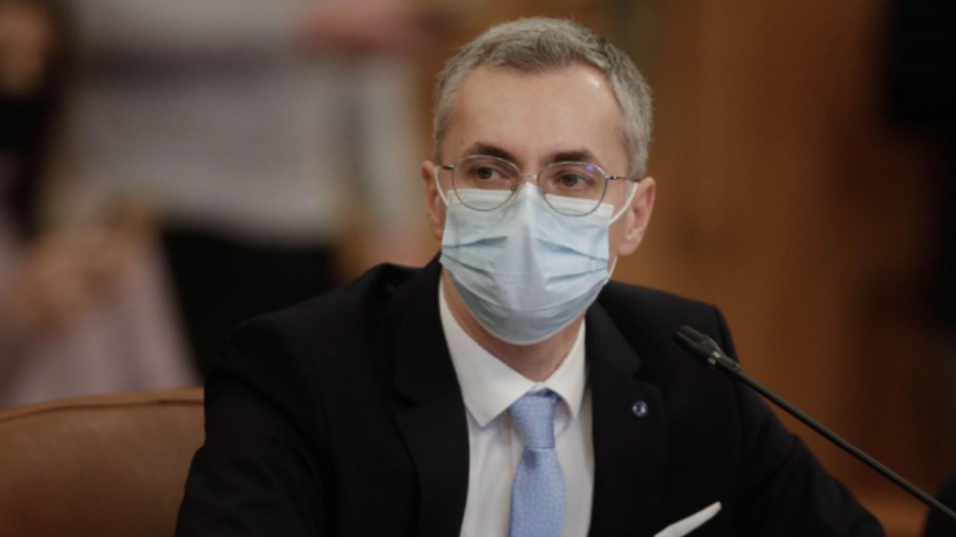 Stelian Ion, ministrul Justiției, spune că nu are niciun conflict cu Ludovic Orban Foto: InquamPhotos/George Călin