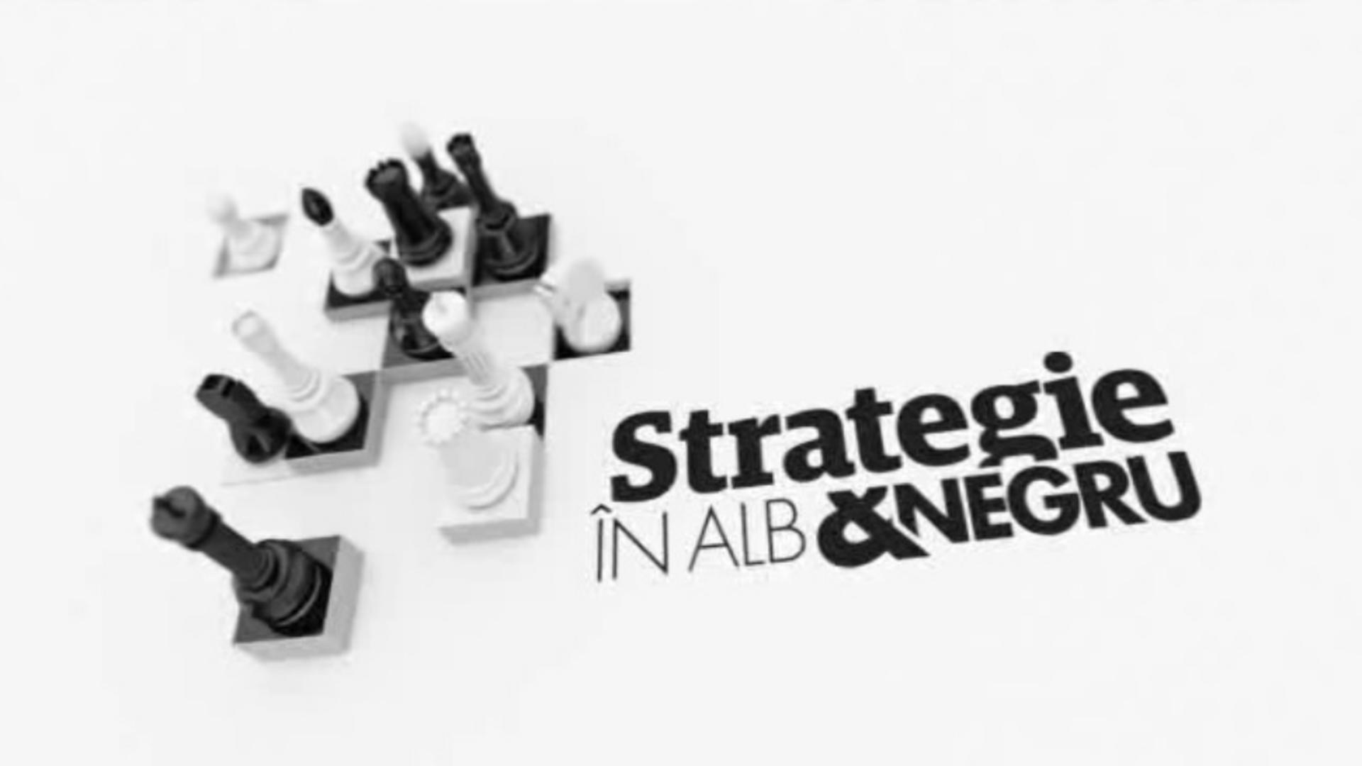 Strategie in alb si negru